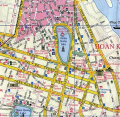Ha Noi  & Vietnam North ITMB Map