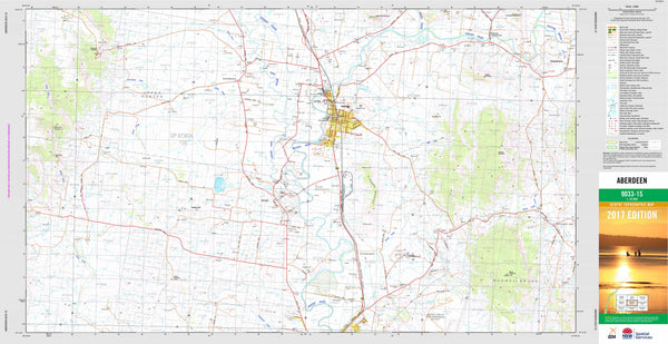 Aberdeen 9033-1S Topographic Map 1:25k