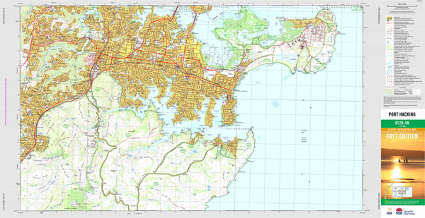 Port Hacking 9129-4N Topographic Map 1:25k