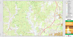 Dooralong 9131-1S Topographic Map 1:25k