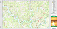 Gunderman 9131-3S Topographic Map 1:25k