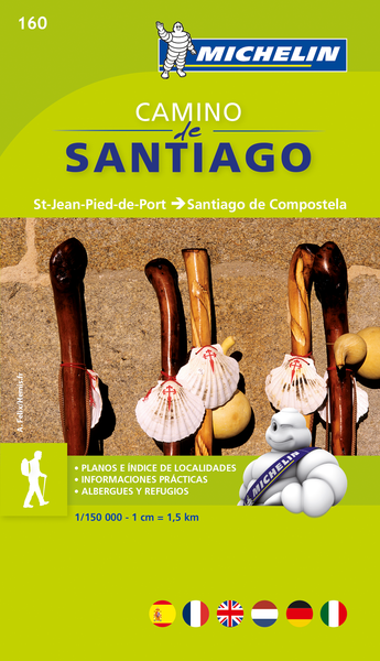 Camino de Santiago Map Book Michelin
