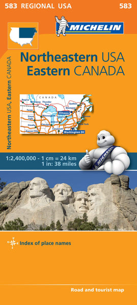 Northeastern USA Eastern Canada Michelin 583