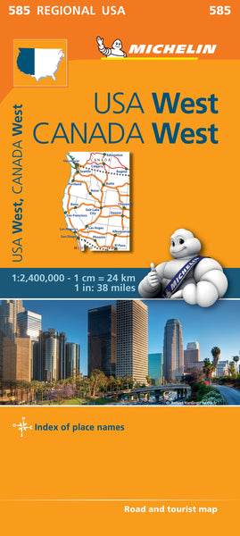 USA West & Canada West Michelin 585