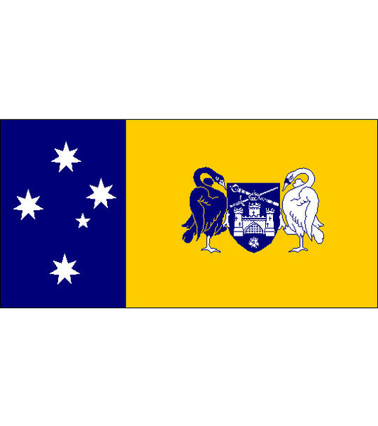 Australian Capital Territory ACT State Flag (fully sewn) 3600 x 1800mm