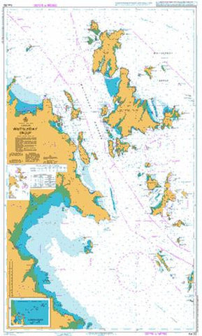 Marine charts maps guides free shipping buy online mapworld aus 252 whitsunday group gumiabroncs Image collections