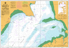 AUS 136 - Approaches to Whyalla and Port Pirie Nautical Chart