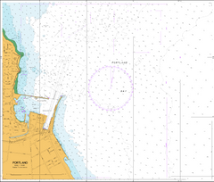 AUS 140 - Approaches to Portland Nautical Chart