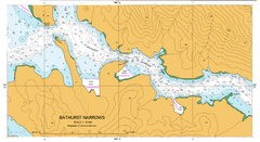 AUS 176 - Port Davey including Bathurst Harbour Nautical Chart