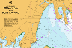AUS 198 - Botany Bay and Port Hacking Nautical Chart