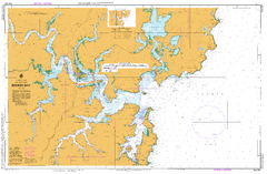 AUS 204 - Broken Bay Nautical Chart