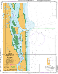 AUS 230 - Approaches to Gold Coast Seaway Nautical Chart