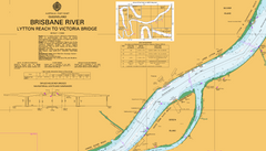 AUS 238 - Lytton Reach to Victoria Bridge Nautical Chart
