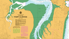 AUS 248 - Port Clinton Nautical Chart