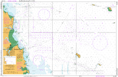 AUS 249 - Approaches to Hay Point and Mackay Nautical Chart