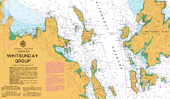 AUS 252 - Whitsunday Group Nautical Chart