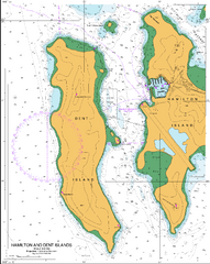 AUS 254 - Plans in Whitsundays Nautical Chart