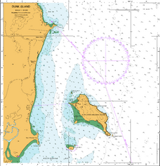 AUS 258 - Plans in Queensland (Sheet 1) Nautical Chart