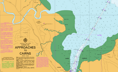 AUS 262 - Approaches to Cairns Nautical Chart
