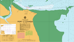 AUS 267 - Port of Lucinda Nautical Chart