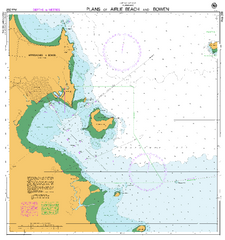 AUS 268 - Plans of Airlie Beach and Bowen Nautical Chart