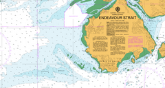 AUS 294 - Endeavour Strait Nautical Chart
