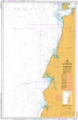 AUS 301 - Booby Island to Archer River Nautical Chart