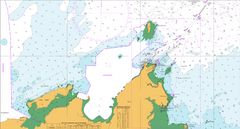 AUS 55 - Approaches to Port Walcott Nautical Chart