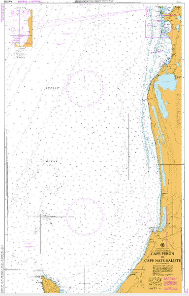 AUS 755 - Cape Peron to Cape Naturaliste Nautical Chart