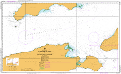 AUS 780 - Althorpe Islands to Backstairs Passage Nautical Chart