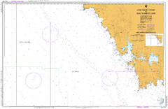 AUS 793 - Low Rocky Point to South West Cape Nautical Chart