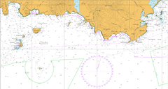 AUS 794 - South West Cape to South East Cape Nautical Chart