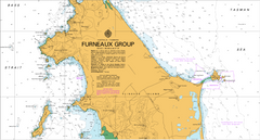 AUS 800 - Furneaux Group Nautical Chart