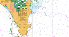AUS 802 - Cape Liptrap to Cliffy Island Nautical Chart