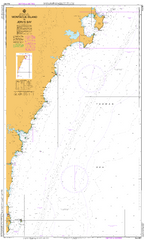 AUS 807 - Montague Island to Jervis Bay Nautical Chart