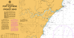 AUS 810 - Port Stephens to Crowdy Head Nautical Chart