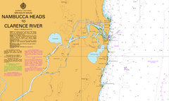 AUS 812 - Nambucca Heads to Clarence River Nautical Chart