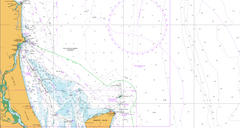 AUS 815 - Cape Moreton to Double Island Point Nautical Chart