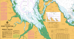AUS 822 - Port Clinton to Percy Isles Nautical Chart
