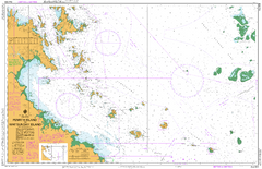AUS 824 - Penrith Island to Whitsunday Island Nautical Chart