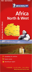 Africa North & West Michelin Map