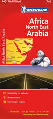 Africa North East & Arabia Michelin Map