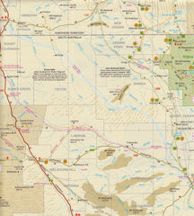 Alice Springs to Oodanatta Map Westprint