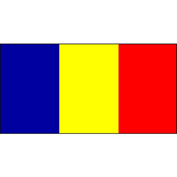 Andorra Flag 1800 x 900mm