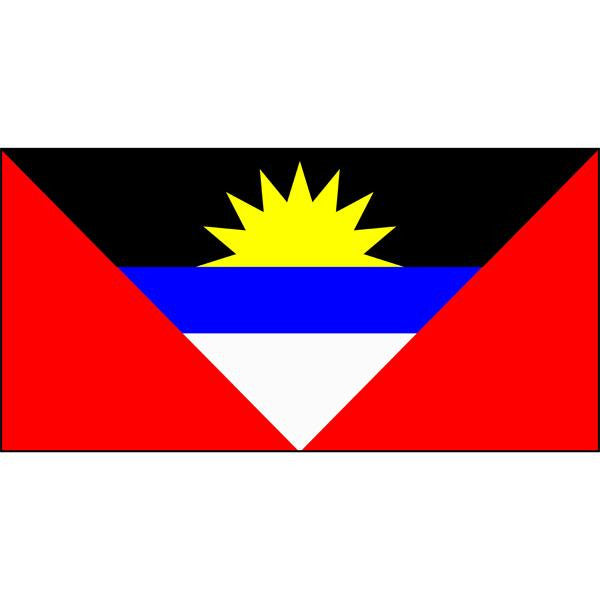 Antigua and Barbuda Flag 1800 x 900mm