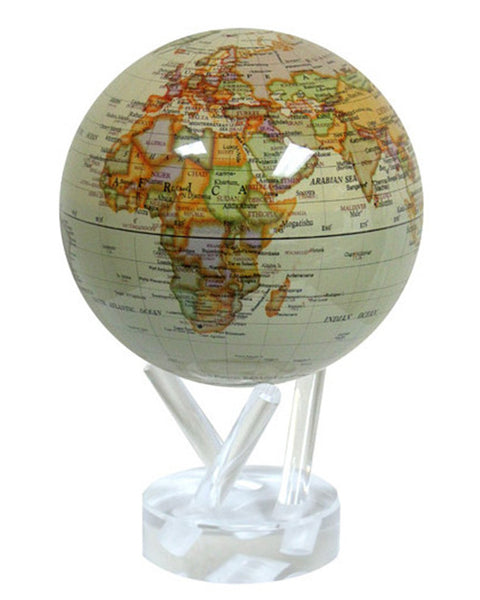 MOVA Globe Antique Political Map - 4.5""