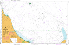 AUS 818 - Sandy Cape to Bustard Head Nautical Chart