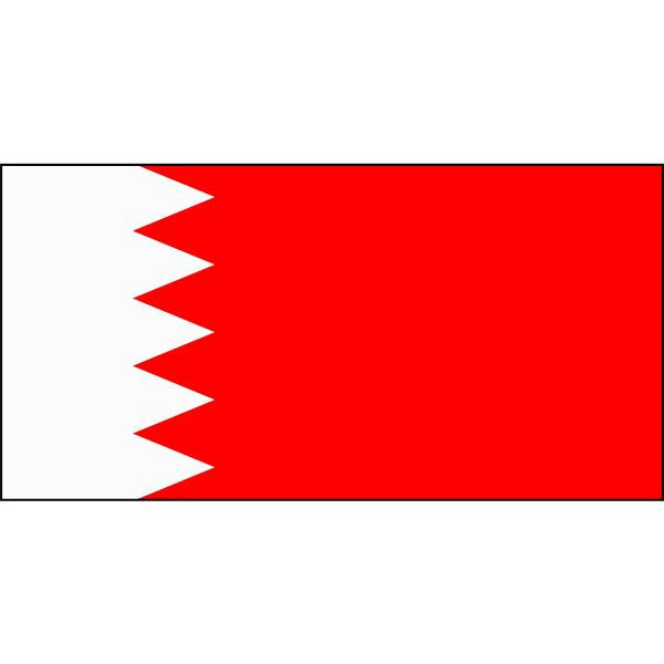 Bahrain Flag 1800 x 900mm