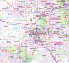 Ballarat Grampians & Spa Country UBD 382 Map