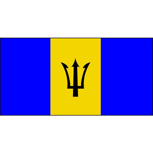 Barbados Flag 1800 x 900mm